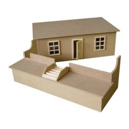 Small Basement for Dolls Houses Kit
