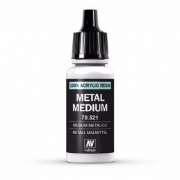 Vallejo Model Color 17ml  Metal Medium