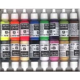 Vallejo Wargame Special Acrylic Paint Set 16 x 17ml