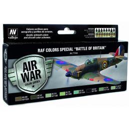 "Vallejo Model Air Paint Set RAF Colors Special ""Battle of Britain"""