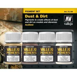 Vallejo Pigments Set - Dust & Dirt