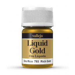 Vallejo Model Color Rich Gold Metals 35ml