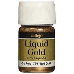 Vallejo Model Color Red Gold Metals 35ml