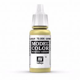 Vallejo Model Color 17ml  German Yellow