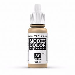 Vallejo Model Color 17ml  Iraqi Sand
