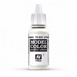Vallejo Model Color 17ml  Offwhite