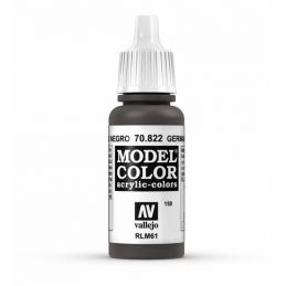 Vallejo Model Color 17ml  German Cam Black Brown