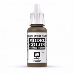 Vallejo Model Color 17ml  German Cam Medium Brown