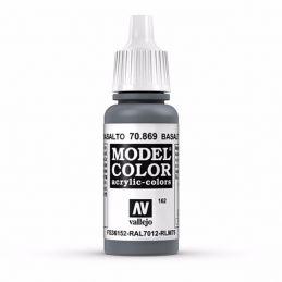 Vallejo Model Color 17ml  Basalt Grey