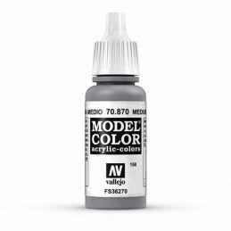 Vallejo Model Color 17ml  Medium Sea Grey
