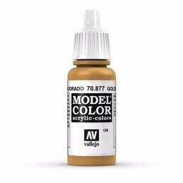 Vallejo Model Color 17ml  Goldbrown
