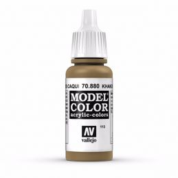 Vallejo Model Color 17ml  Khaki Grey