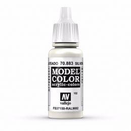 Vallejo Model Color 17ml  Silver Grey