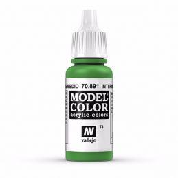Vallejo Model Color 17ml  Intermediate Green