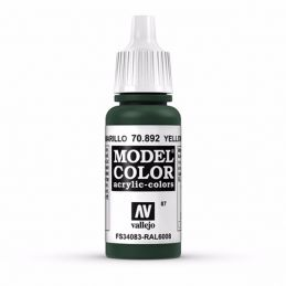 Vallejo Model Color 17ml  Yellow Olive