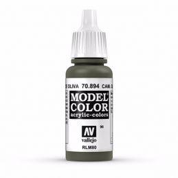 Vallejo Model Color 17ml  Cam Olive Green