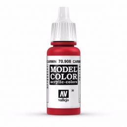 Vallejo Model Color 17ml  Carmine Red