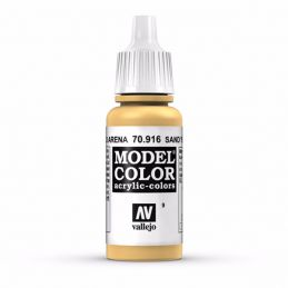 Vallejo Model Color 17ml  Sand Yellow