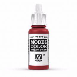 Vallejo Model Color 17ml Red