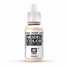 Vallejo Model Color 17ml  Light Flesh