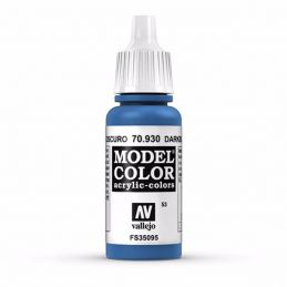 Vallejo Model Color 17ml  Dark Blue