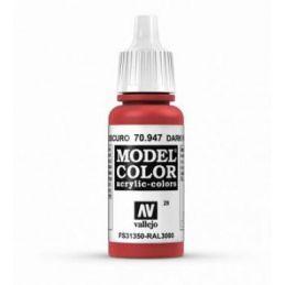 Vallejo Model Color 17ml Dark Vermillion