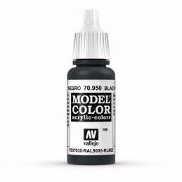Vallejo Model Color 17ml  Matt Black