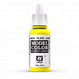 Vallejo Model Color 17ml  Lemon Yellow