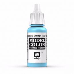 Vallejo Model Color 17ml  Sky Blue