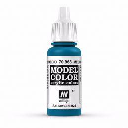 Vallejo Model Color 17ml  Medium Blue