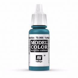 Vallejo Model Color 17ml  Turquoise