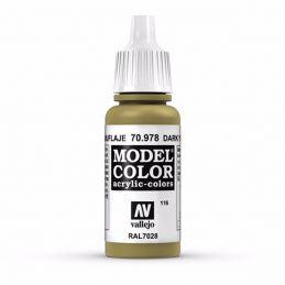 Vallejo Model Color 17ml  Dark Yellow