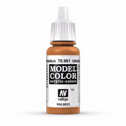 Vallejo Model Color 17ml  Orange Brown