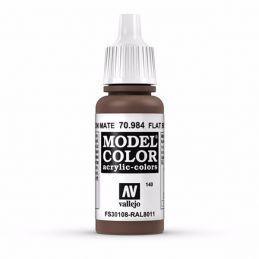 Vallejo Model Color 17ml  Flat Brown
