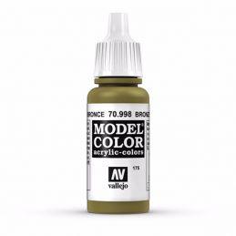 Vallejo Model Color 17ml  Metallic Bronze