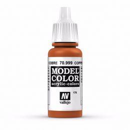 Vallejo Model Color 17ml  Metallic Copper