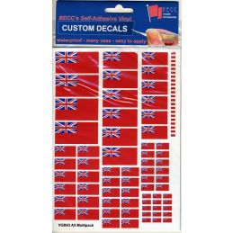 GB Red Ensign Vinyl Flags