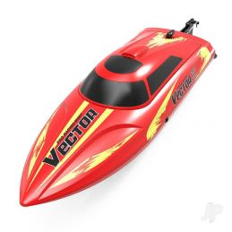 Volantex Vector 30 Brushed Ready to Run Boat Red