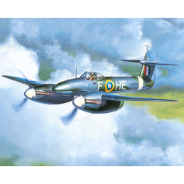 Trumpeter Westland Whirlwind British Heavy Fighter 1:48 Scale Detailed Plastic Model Plane Kit 02890