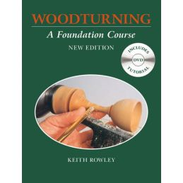 Woodturning - A Foundation Course Book and DVD