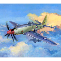 Trumpeter Westland Wyvern S-4 Early Version Plastic Model Aircraft Kit