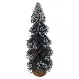 Snowy Pine Tree 1 12 Scale for Dolls House Garden