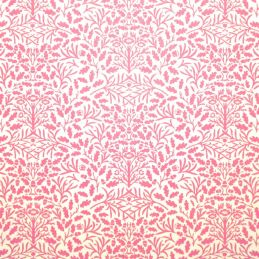 Purple and White Acorn Wallpaper