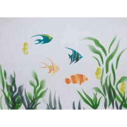 Cakecraft Aquarium Stencil Kit