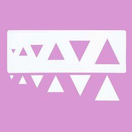 Cakecraft Triangle Stencils
