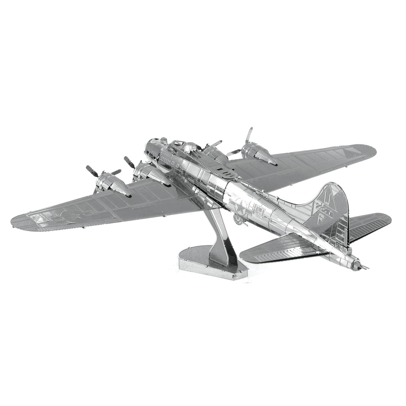Metal Earth B 17 Flying Fortress 3d Metal Model Plane Kit