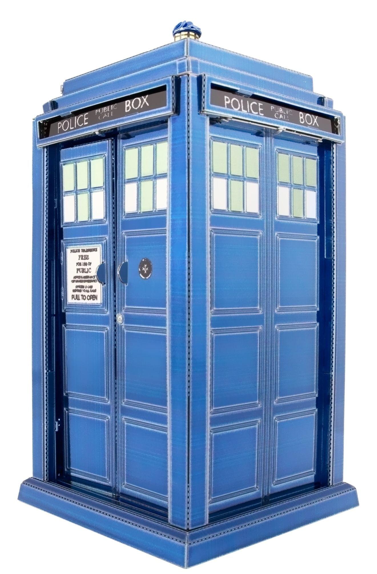 fascinations metal earth doctor who tardis kit hobbies