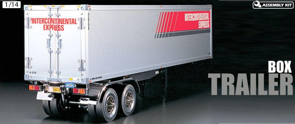 Semi Truck Control Panel : Tamiya semi trailer kit scale for rc model trucks