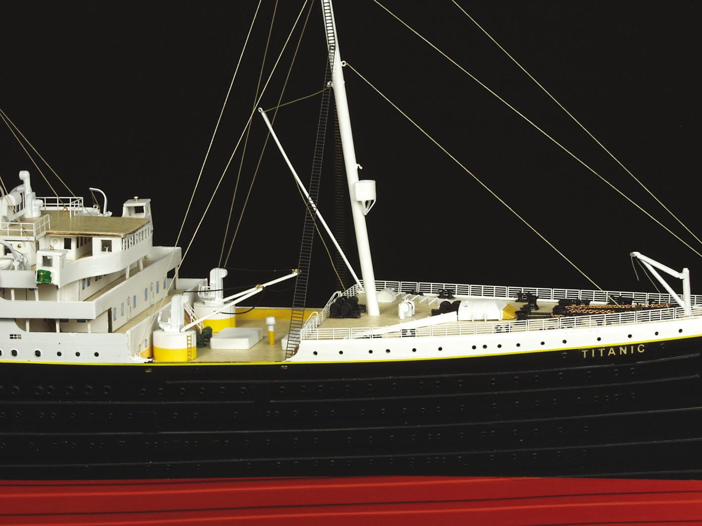 Amati Rms Titanic 1912 Wooden Model Ship Kit 1606 Hobbies