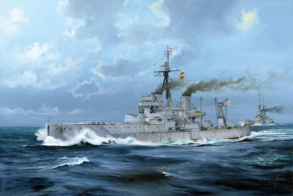 Trumpeter Hms Dreadnought 1918 Royal Navy Plastic Model